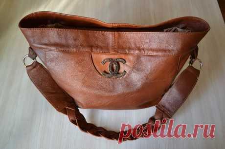 Сумка своими руками - пошив сумки из натуральной кожи