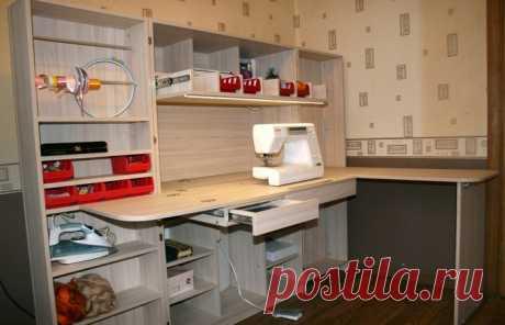 Раздвижной шкаф для швейных принадлежностей   Наши дома