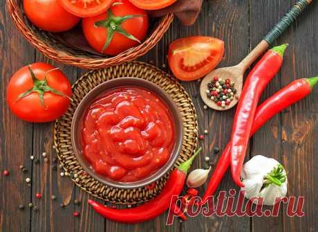 Кетчуп из помидор на зиму: домашний вкус - tochka.net