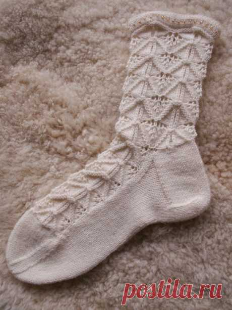 Гламурные носочки от Стефани ван дер Линден.