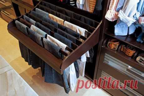 Идея для хранения брюк