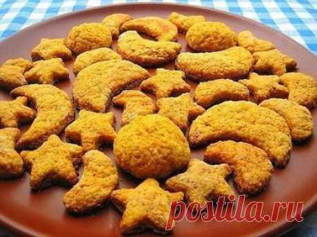 Домашнее печенье из моркови - Печенье