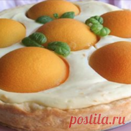 У тебя будут просить рецепт этого пирога: нежный со сливочным вкусом а главное — там калорий мало