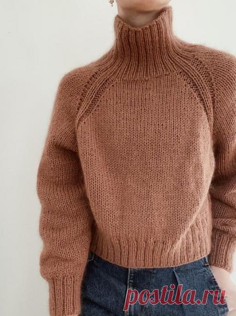 Красивый свитер, связанный спицами | ВЯЗАНИЕ СПИЦАМИ И КРЮЧКОМ | Яндекс Дзен