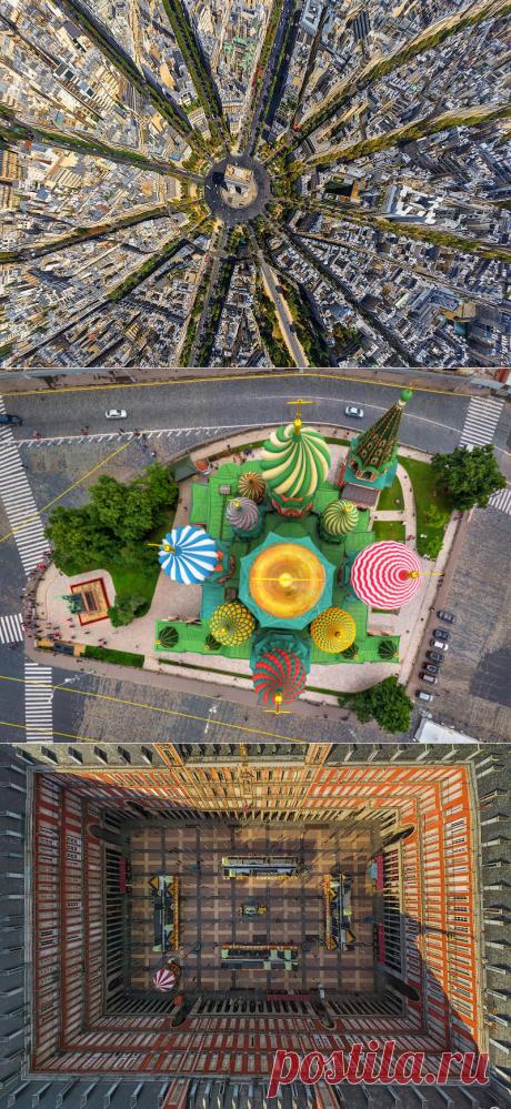 Такими вы их не видели: 25 фотографий городов с высоты птичьего полета — Infodays