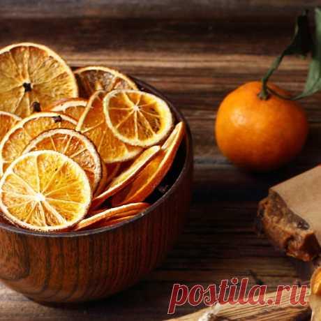 Как сделать сушеные апельсины - мастер-класс - Леди Mail.Ru