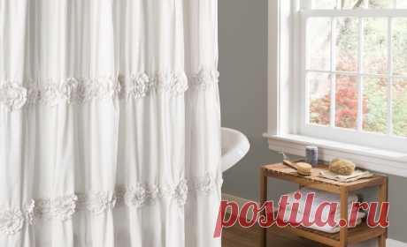 Выбираем шторку для ванной: материал, крепление, дизайн – Полезные советы
