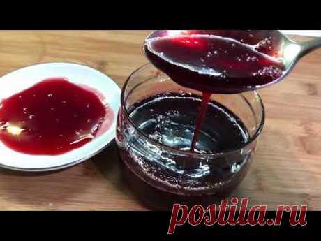 Клубничный сироп | Strawberry syrup | Ելակի՝օշարակ