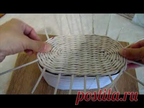 Шкатулка из газетных трубочек: мастер-класс по плетению из бумажной лозы для начинающих, как сплести прямоугольную с крышкой или круглую своими руками
