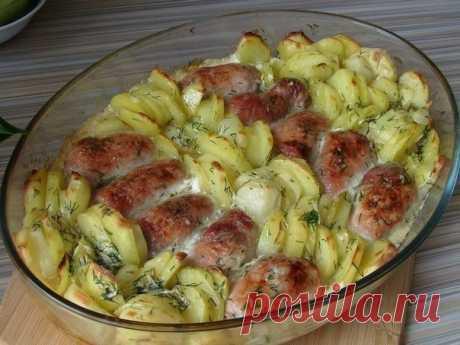 Мясные рулетики с картошкой в сливках  Ингредиенты: – 500 гр мяса – 2 яйца Показать полностью…