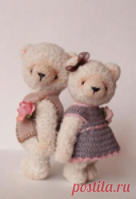 Маленькие медвежата Бернард и Софи