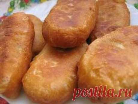 Жареные пирожки с капустой - рецепты с фото. Как приготовить постные жареные пирожки с капустой