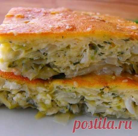 Как приготовить капустный пирог - рецепт, ингридиенты и фотографии