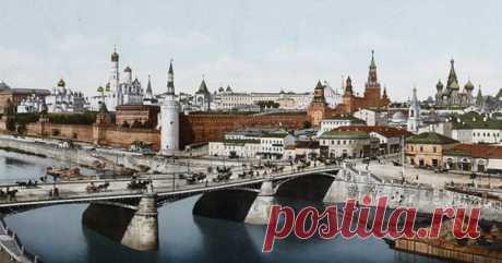 Цветные фото популярных туристических мест, сделанные более 100 лет назад: