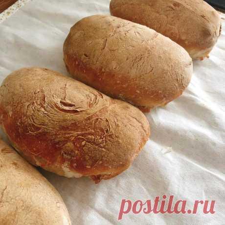 Домашний хлеб - рецепт из французской булочной | Про тортики и не только | Яндекс Дзен