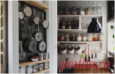 10 гениальных идей, благодаря которым маленькая кухня станет стильной