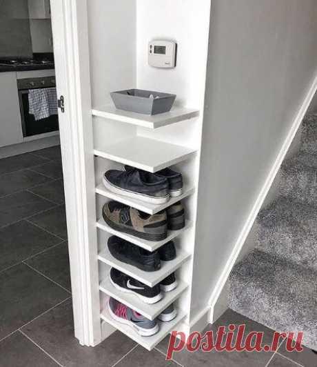 Гениальные идеи хранения в малогабаритке: карманы на кровати, подушки на потолке, хранение пакетов, специй на кухне | Декорочка | Яндекс Дзен