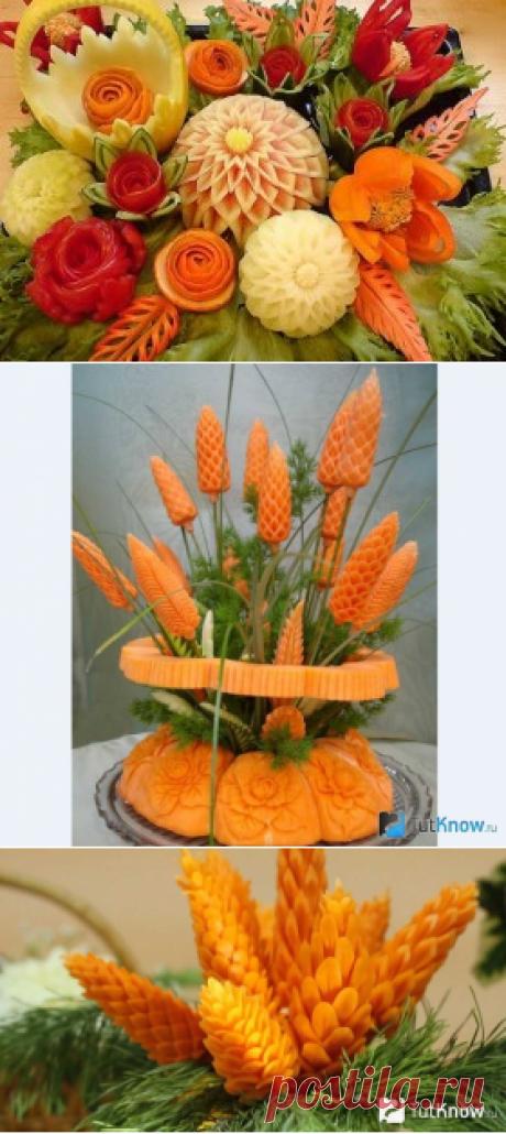 Карвинг для новичков ― овощные украшения