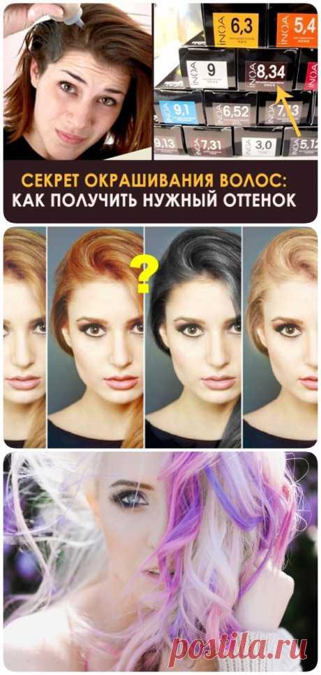 Научитесь красить волосы правильно: вот таблица - подсказка - zdesidea.ru