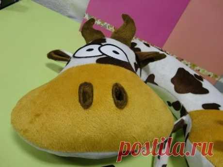 Уникальная подушка - Корова Марфушка
