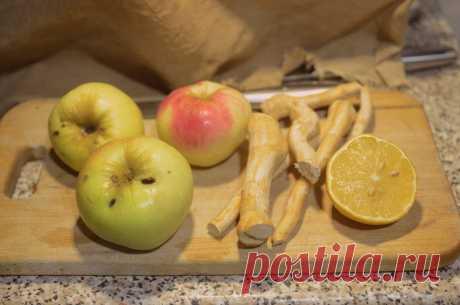 В этом сезоне «хреновину» готовлю по новому: любимая закуска с яблоками | Дауншифтеры | Яндекс Дзен