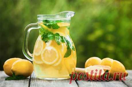 Что произойдёт с организмом, если начинать утро со стакана воды с лимоном