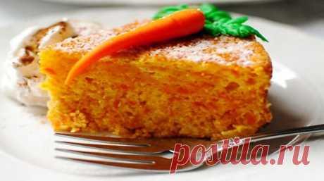 Самый вкусный морковный кекс - Счастливый формат