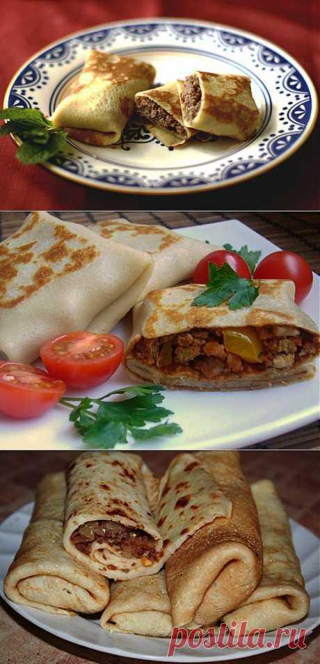 Блины с мясом – лучшее для любимых / Простые рецепты