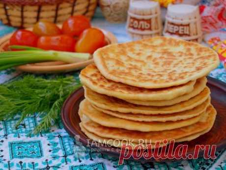 Лепёшки на кислом молоке на сковороде — рецепт с фото пошагово
