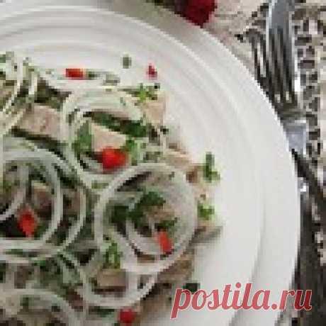Деревенский свадебный салат Кулинарный рецепт