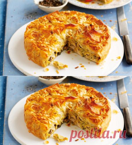 Рецепт дня: мясной пирог на кефире - DELFI