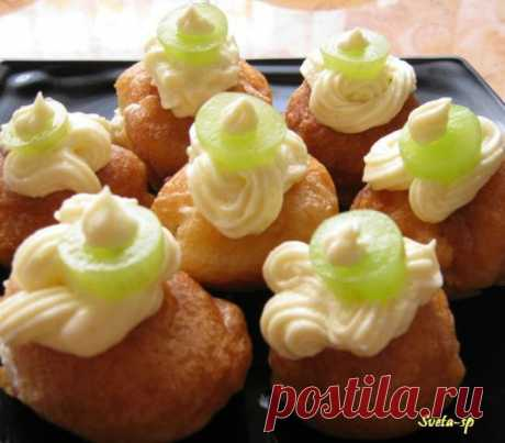 Итальянские заварные пончики