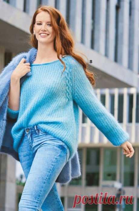 Легко быть стильной, если умеешь вязать. Подборка вязаных моделей с описанием   Магия Вязания / Knitting Magic   Яндекс Дзен
