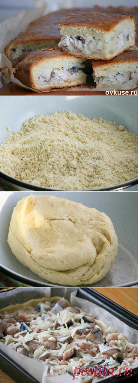 Пирог со скумбрией. замечательное тесто - Простые рецепты Овкусе.ру