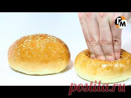 Булочки для бургеров Рецепт своими руками | Булочки для гамбургеров — Голодный Мужчина (ГМ, #44)