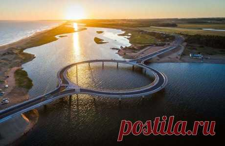 12 нестандартных впечатляющих мостов со всего мира   Тысяча и одна идея