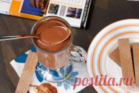 Горячий шоколад по Итальянски. Такой потрясающий напиток нельзя обойти стороной