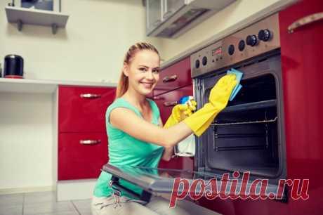 Как быстро отмыть кухонные шкафы от жира и грязи