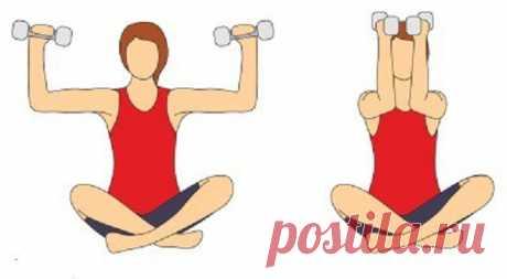 """Комплекс упражнений для тонуса мышц груди 6 """"золотых"""" упражнений."""