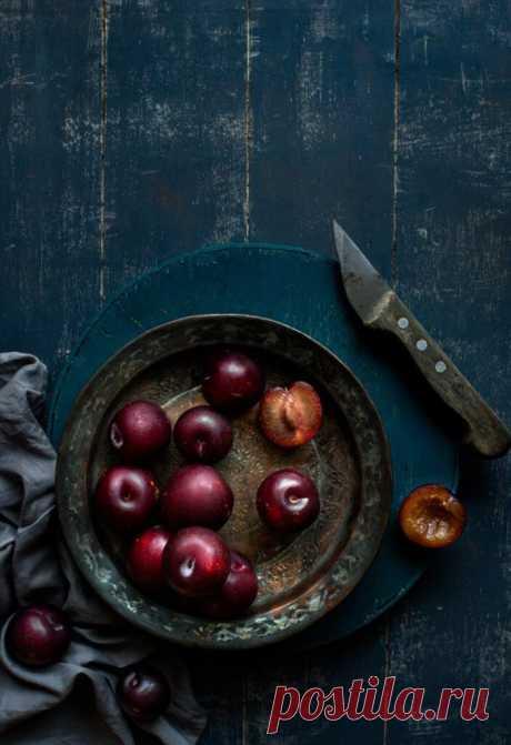 Пряные сливы: нетривиальный рецепт — Фактор Вкуса