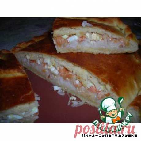 """Рыбный пирог """"Клондайк"""" - кулинарный рецепт"""