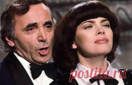 «Вечная любовь» по-французски: душевная песня в исполнении Мирей Матье и Шарля Азнавура