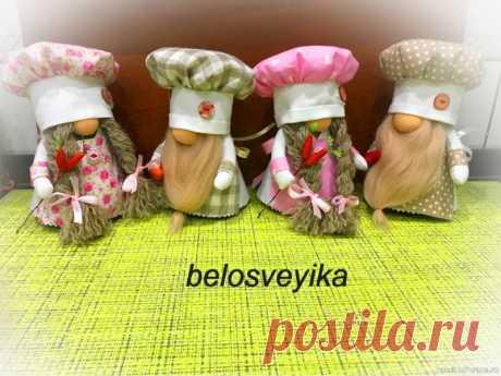 Гномы повара   Разнообразные игрушки ручной работы