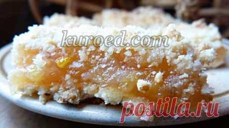 РЕЦЕПТЫ | Ленивый лимонный тертый пирог