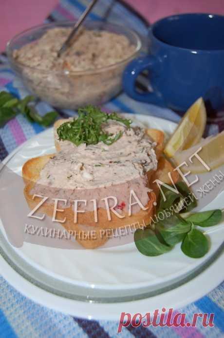 Паштет из куриной грудки с сыром и грецкими орехами-домашние рецепты с фото
