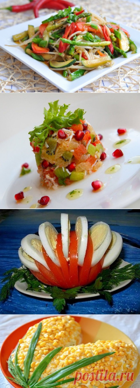 ТОП-5 салатов без майонеза. Оказывается, быть стройной — просто!