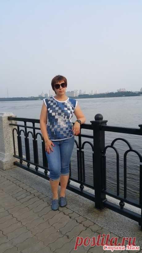 Кофточка цвета моря - Вязание - Страна Мам