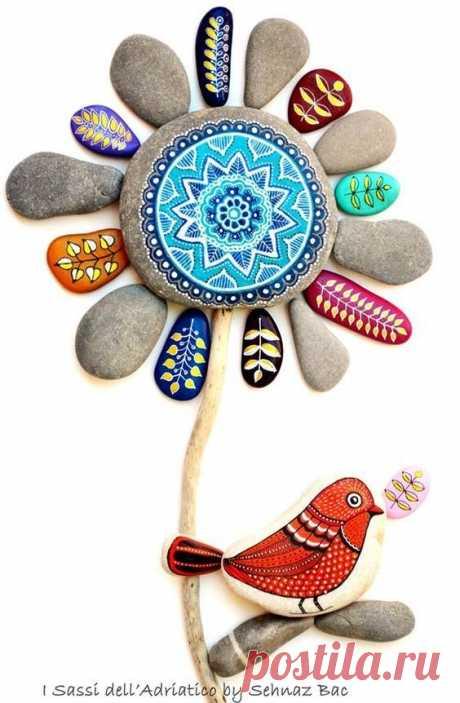 Идеи для росписи камней