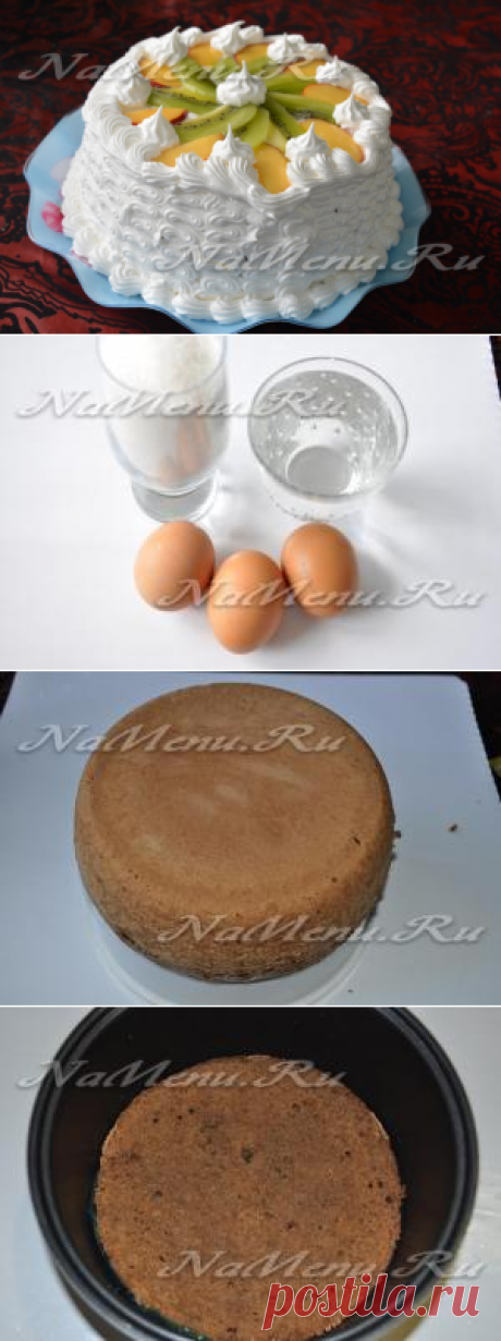 """La torta \""""la leche De pájaros\"""", la receta de la foto poshagovo en las condiciones de casa"""
