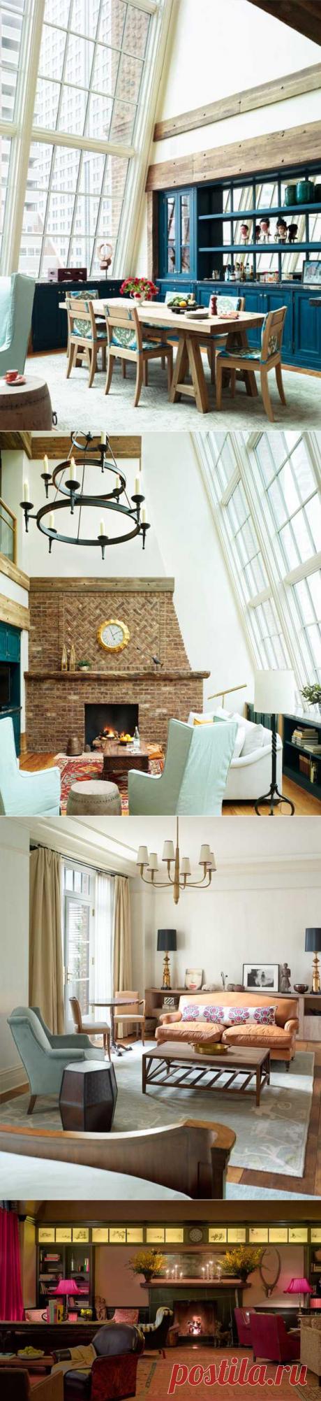 〚 Стильный отель в Нью-Йорке от Роберта Де Ниро 〛 ◾ Фото ◾Идеи◾ Дизайн